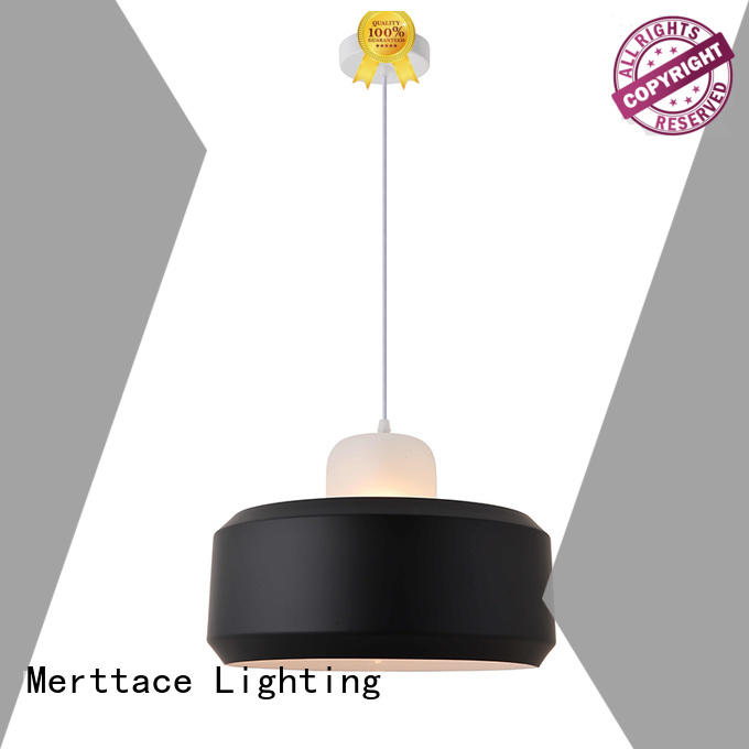 Merttace frosted glass square pendant light fixtures manufacturer for restaurant
