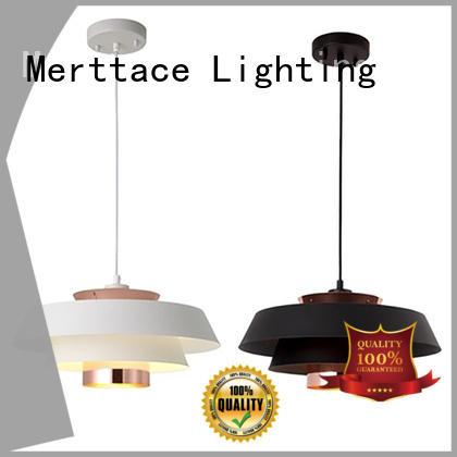 Merttace wood pendant light fixtures factory for indoor decoration