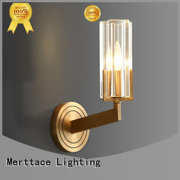 fabric wall lights with good price for restaurant Merttace