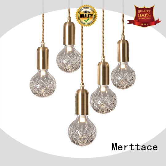Merttace hanging pendant light fixtures customized for indoor decoration