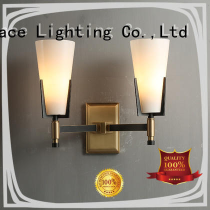 Merttace shaking head plug in wall lights design for indoor decoration