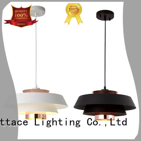 Merttace frosted glass square modern hanging lights wholesale for living room