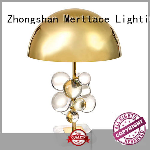Merttace end table lamps manufacturer for hotel