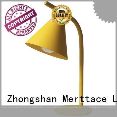 Merttace table light manufacturer for reading