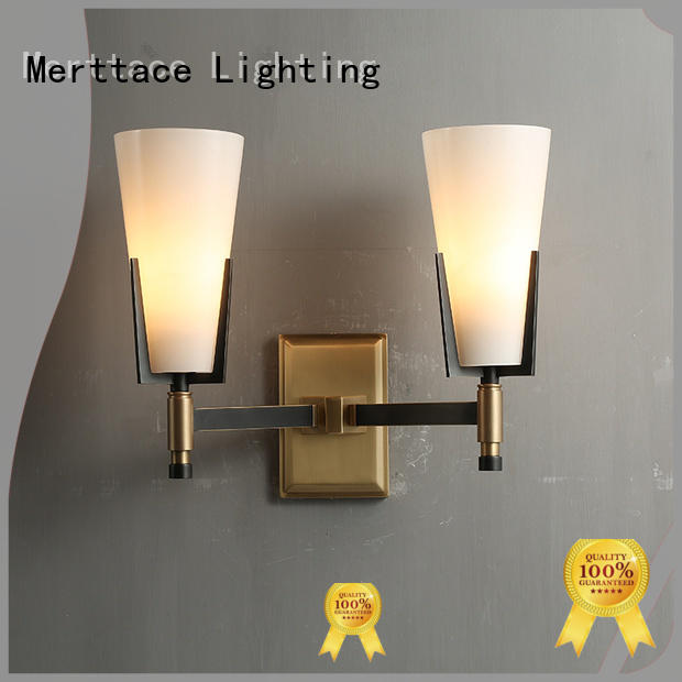 Merttace bedside wall lights customized for aisle