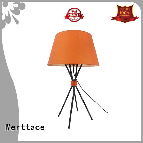 Merttace table light manufacturer for hotel