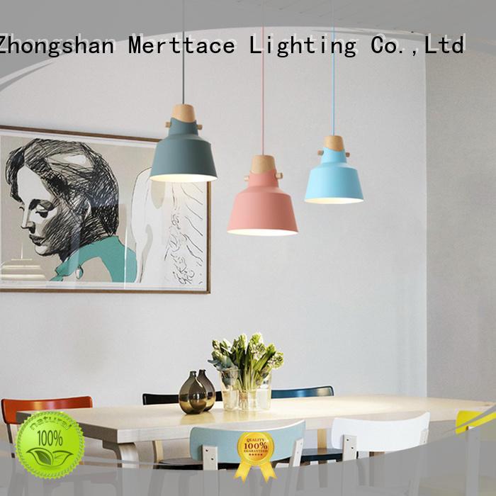 Modern Design Aluminum & Wood Flared Pendant Light M10835