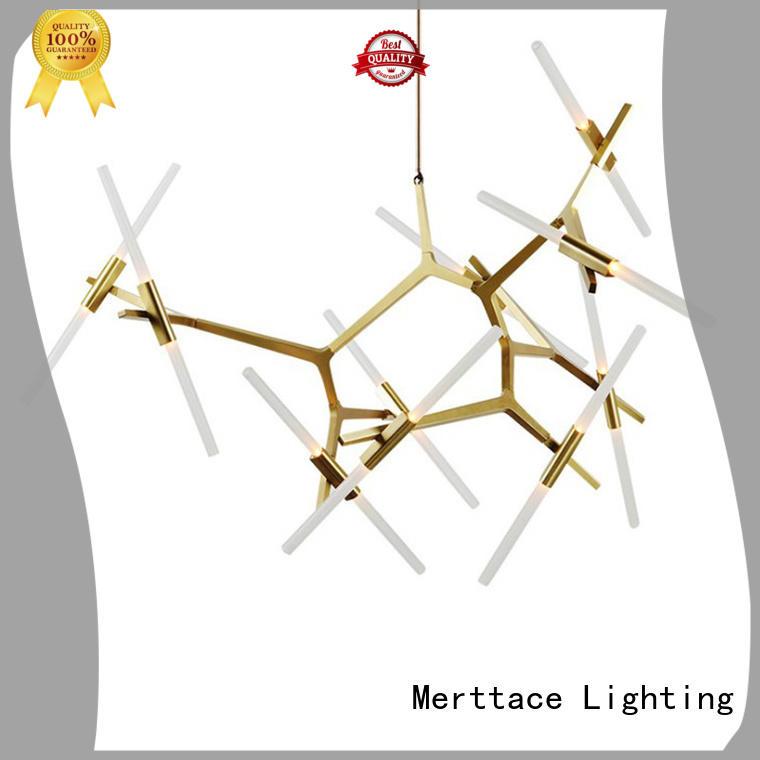 Merttace horizontal indoor pendant lighting factory for bedroom