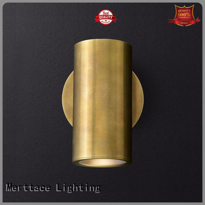 Merttace copper sconce light manufacturer for aisle