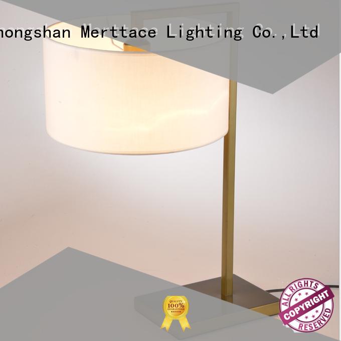 Merttace iron desk light customized for hotel