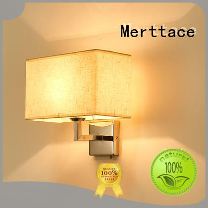 Merttace unique design wall mount plug in lamp for restaurant