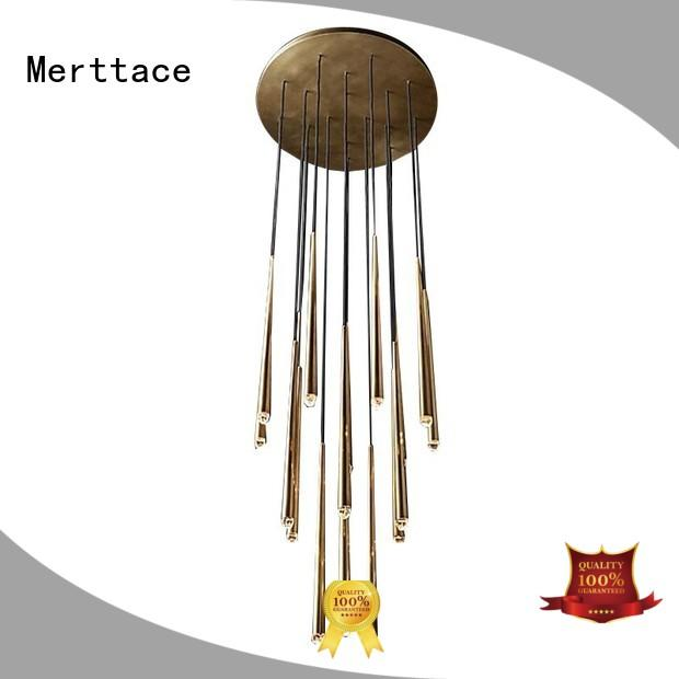 Merttace three head modern hanging lights supplier for living room