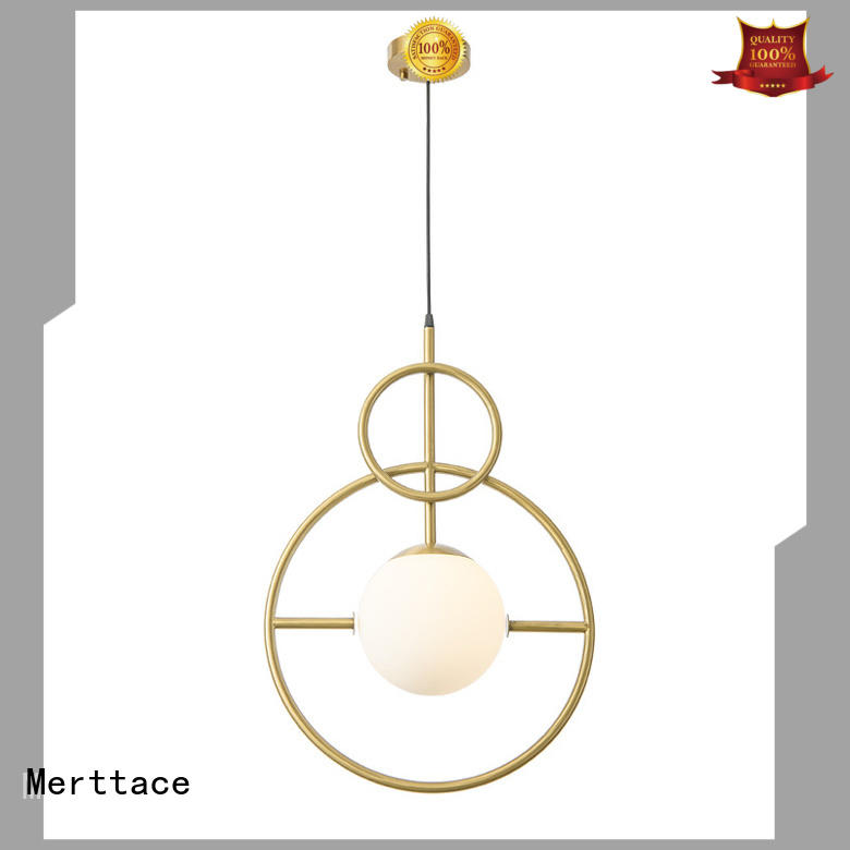 Merttace frosted glass square interior pendant lights wholesale for indoor decoration