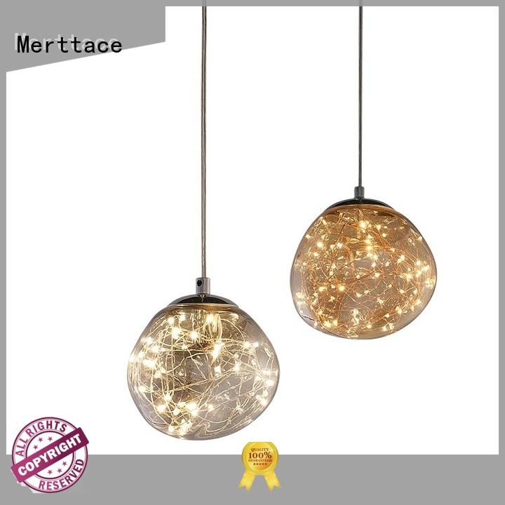 Merttace pendant light fixtures manufacturer for indoor decoration