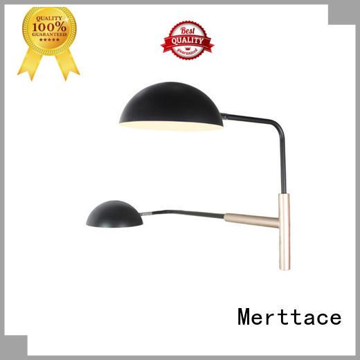 Simple Design Black Semi-Circular Dual Head Wall Lamp for Bedroom M10458