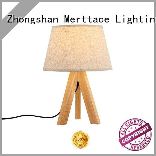 Merttace dimmable bedside table lights customized for hotel