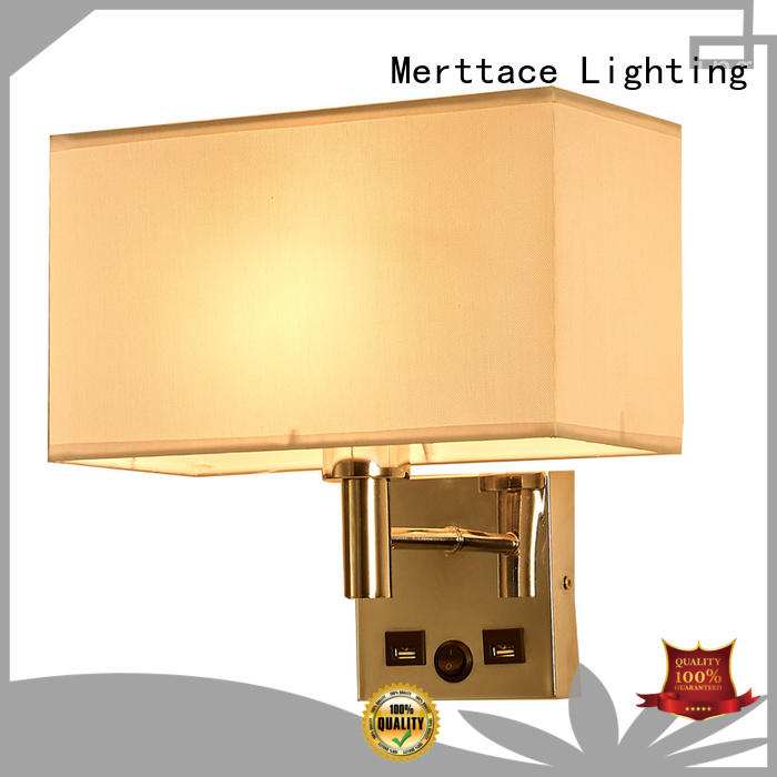 Merttace sconce lamp customized for aisle