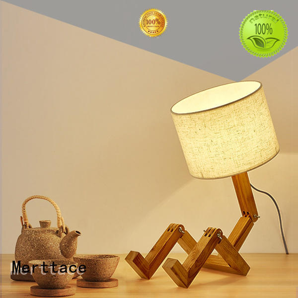 Merttace cordless side table lamp design for home decoration