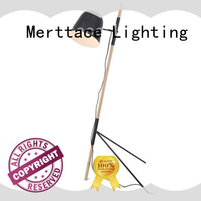 Merttace electroplating floor standing reading lamp directly sale for bedroom