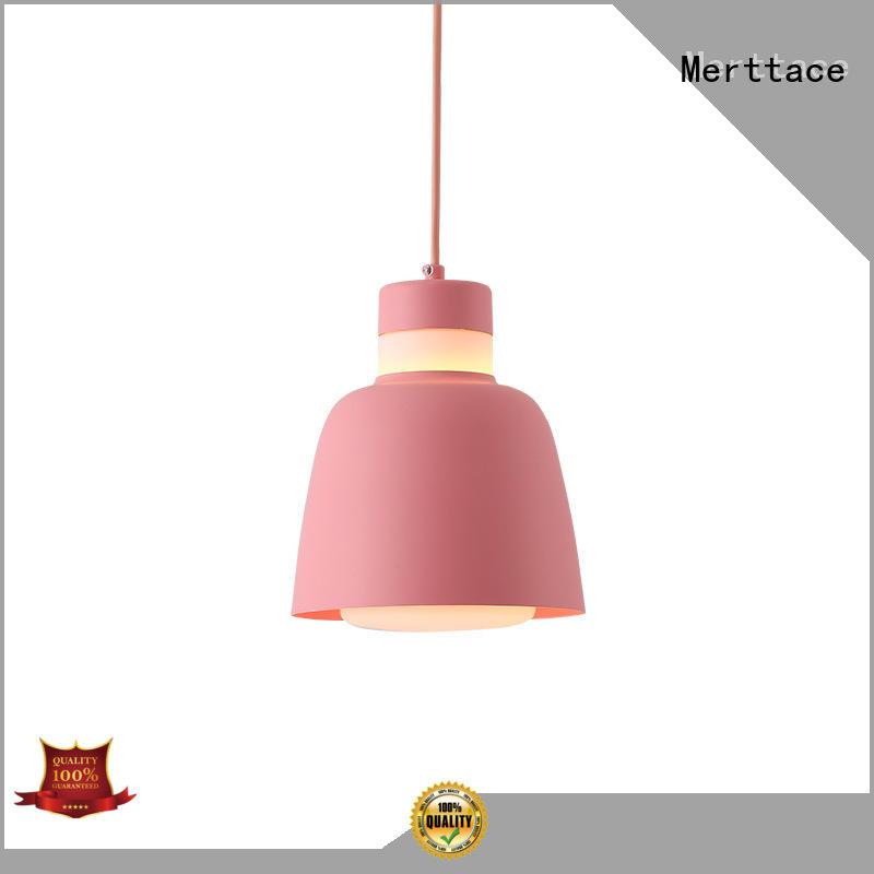 Merttace black iron modern pendant lamp wholesale for bedroom