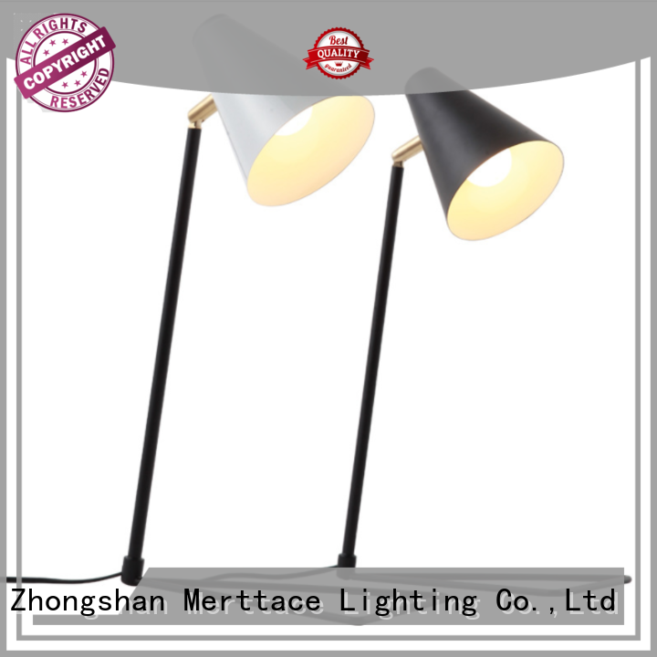 Merttace side table lamp design for home decoration