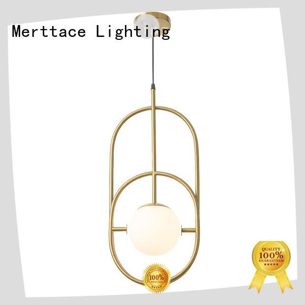 Merttace opal white contemporary pendant lights design for restaurant