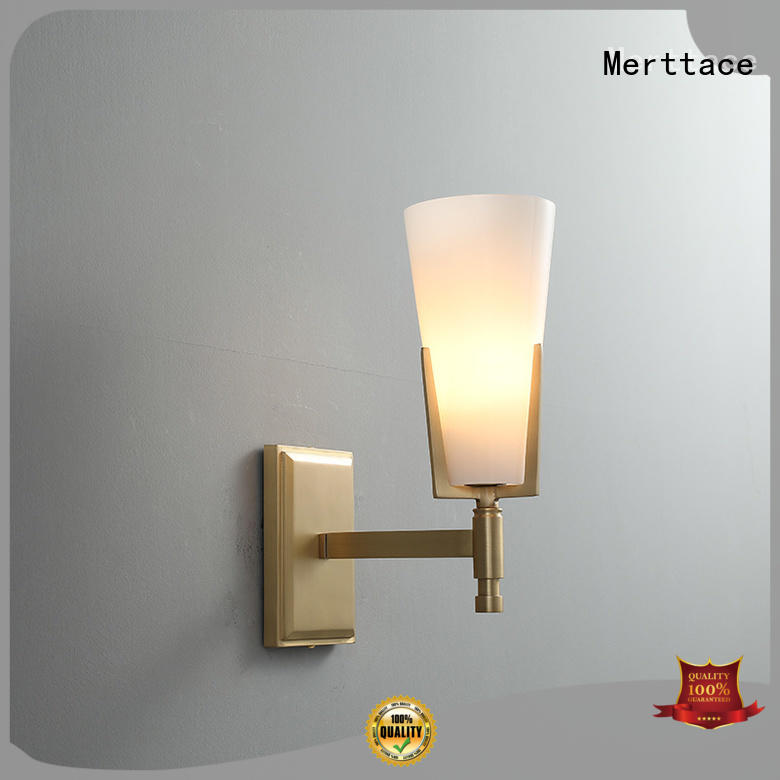 Merttace bedside wall lights customized for living room