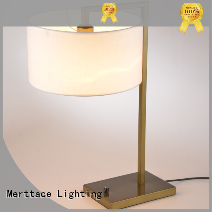 Merttace usb charging desk light manufacturer for hotel