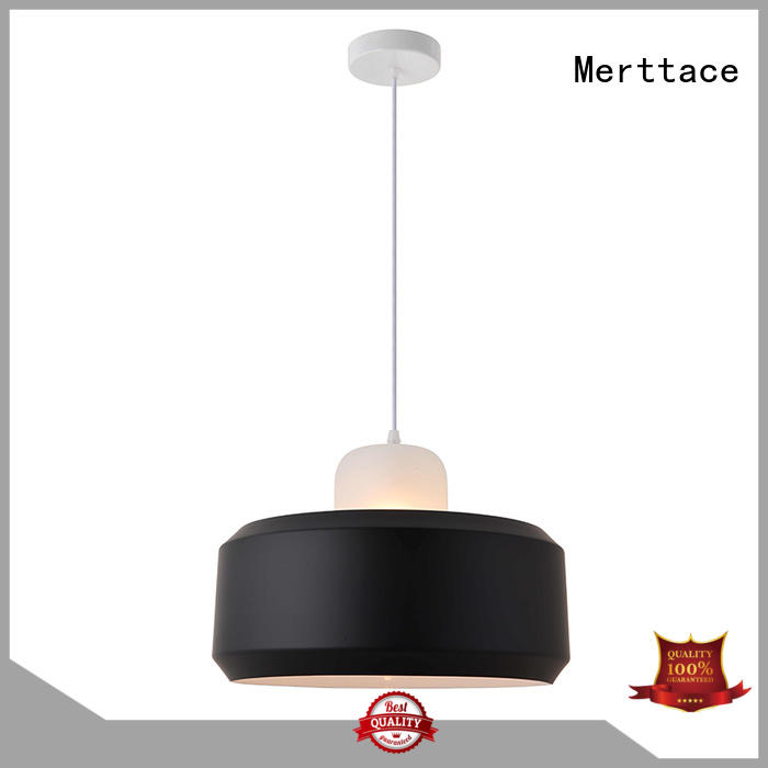 Merttace frosted glass square interior pendant lights wholesale for hotel