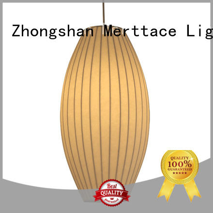 Merttace hanging pendant light fixtures directly sale for hotel