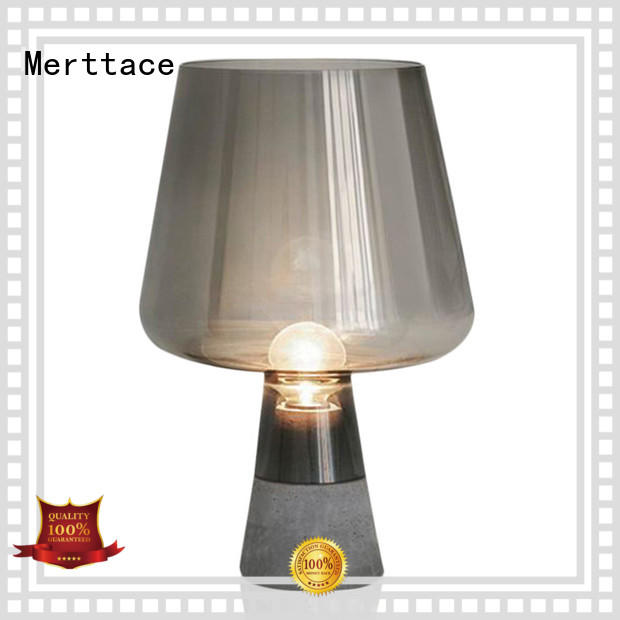 Merttace wood base desk light with good price for reading