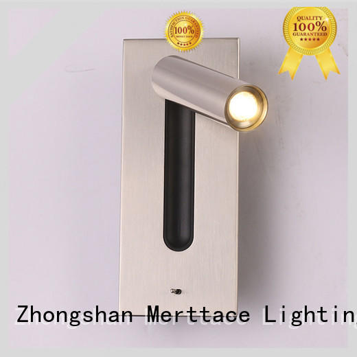 Merttace dual head wall mount plug in lamp for indoor decoration