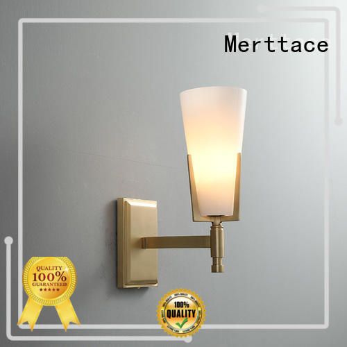 Merttace multi-color wall lamp lighting design for aisle