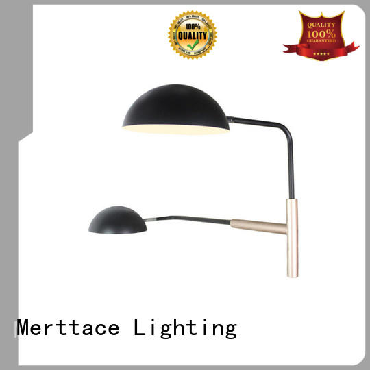 Merttace brushed brass wall lamp lighting design for indoor decoration