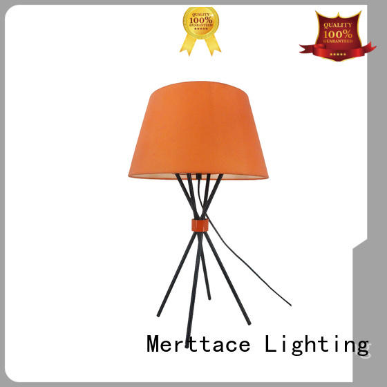 Merttace usb charging side table lamp factory for bedroom
