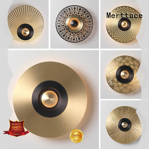 Merttace multi-color sconce lamp manufacturer for aisle