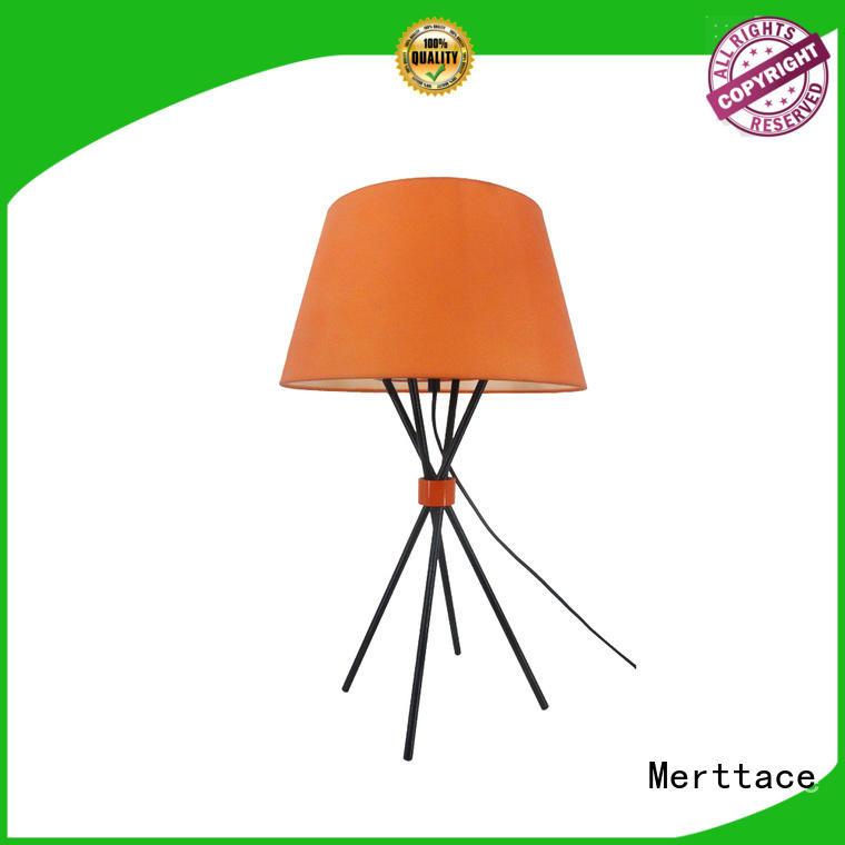 Merttace dimmable cordless table lamp factory direct supply for bedroom