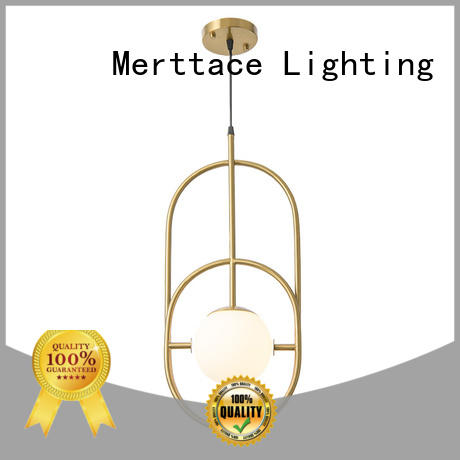 Merttace opal white hanging pendant lamp with good price for bedroom