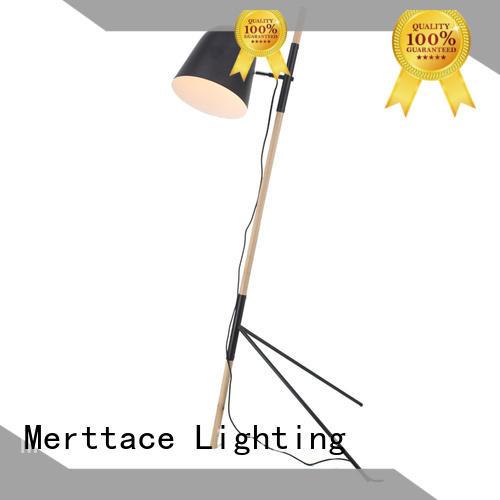 Merttace rose gold stand up floor lamps design for bedside