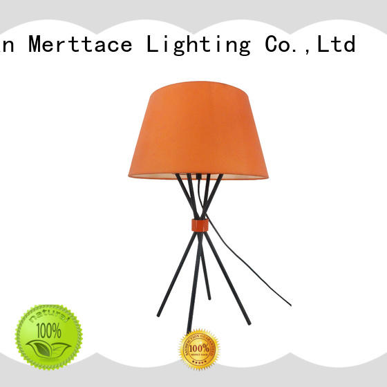 Merttace iron side table lamp customized for home decoration