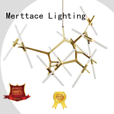 Merttace opal white pendant light fitting with good price for living room