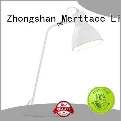Merttace round desk light customized for bedroom